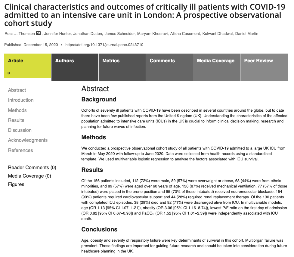 With COVID-19 patients suffering from fluid imbalance, haemodynamic monitoring is essential
